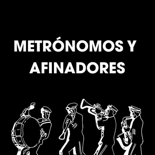 Metrónomos y Afinadores