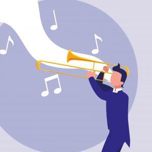 La vara del trombón