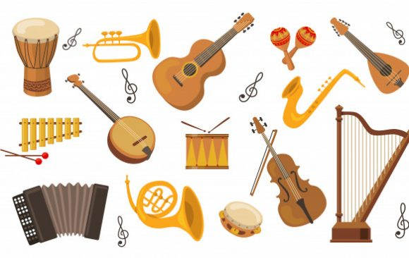 Los instrumentos musicales más raros