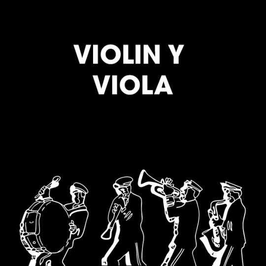 VIOLIN Y VIOLA
