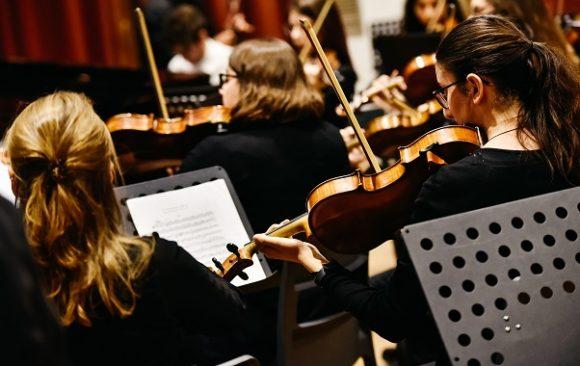 La orquesta sinfónica: instrumentos principales